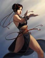 Chun-Li by DanHowardArt