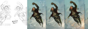 Rogue Process Shots by DanHowardArt