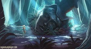The Totem by DanHowardArt