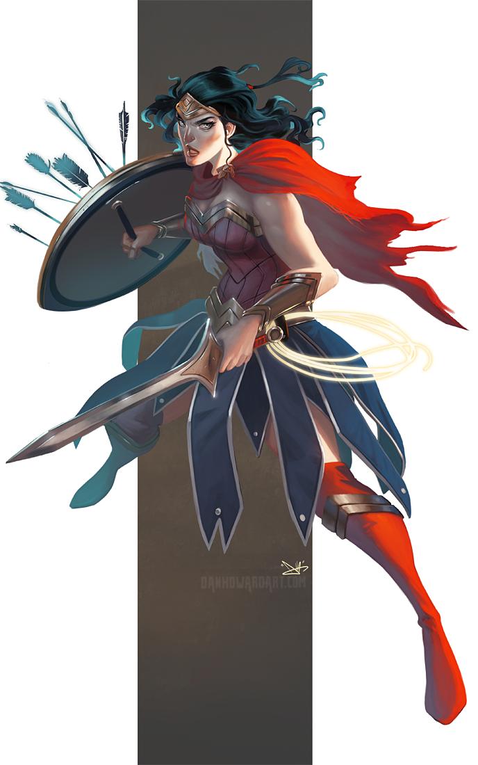 Diana by DanHowardArt