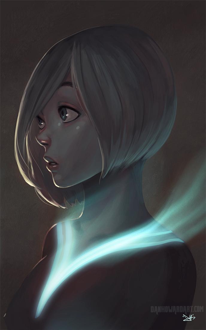 The Glow by DanHowardArt