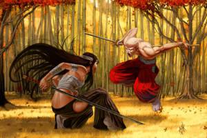 Full Tang by DanHowardArt