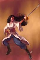 Pirates:  Genny by DanHowardArt