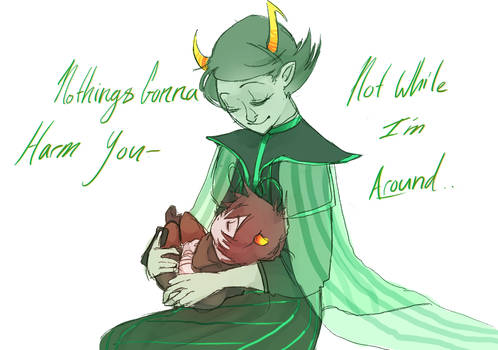 Nothings gonna harm you by Fuocofuu