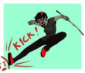 Kick by Fuocofuu