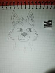 back into drawing by morthem1