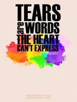 Tears and Words by WonderPaulinian