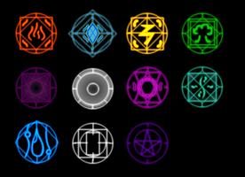 Elemental Glyphs by Zentiorus