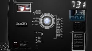 .:My Jarvis Desktop:. by GreedXIII
