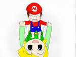 baby mario's first steps by darkmoyjfjfgthdhdh