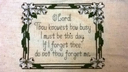 Cross Stitch for busy people by jtheodorec