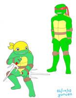 TMNT: Dante and Raphael by yunuentmnt
