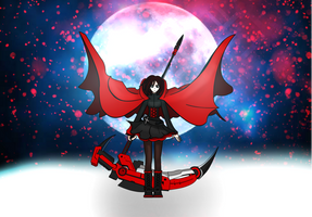 Ruby Rose RWBY by June183