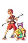 Kuro and Shiro! by Marcos-A-Rodrigues