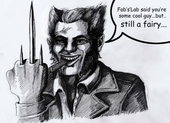 Wolverine by Hamfairy