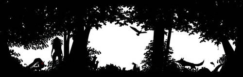 silhouette by Hamfairy