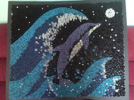 Quilled Dolphin by nellanova