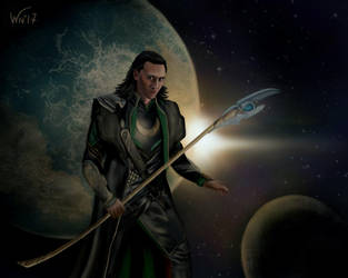 The whole world is in the hands of Loki by White-Night-56