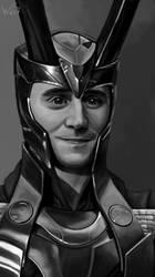 Smiling Loki by White-Night-56