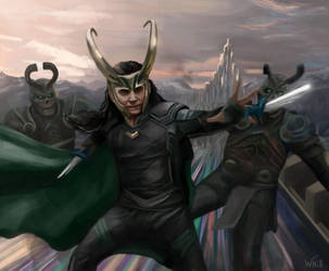 Fight for Asgard by White-Night-56