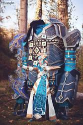 Guild Wars 2 - Offensive Golem Support by elliria