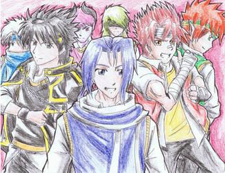 Grand Chase fan-art by Chidurisasuke