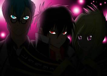 Niflheim Reapers (colored, darkened) by Chidurisasuke