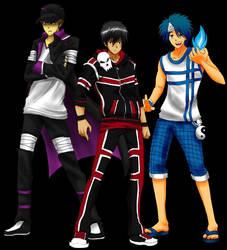 Tales of Familiars MC's by Chidurisasuke