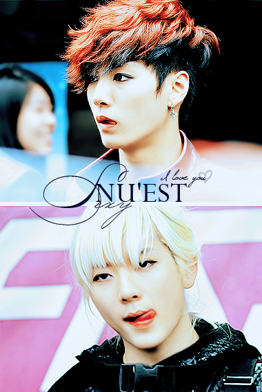 Sexy NU'EST by kanhominu