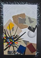 Paper Collage by MrDannyD