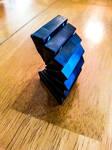 Triominos sculpture- Curve by MrDannyD