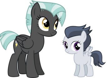 Vector 33 - Genderbent Thunderlane and Rumble by WhalePornoz