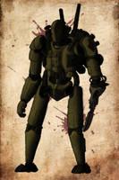 Steampunk Assault Mech by AlexanderVenturi