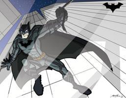 Batman color by Granamir30