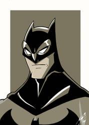 Batman portrait by Granamir30