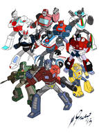 Transformers G1 by Granamir30