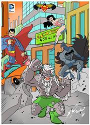 Batman v Superman: Dawn of Justice by Granamir30