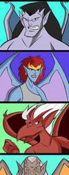 Gargoyles by Granamir30