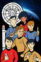 Star Trek Team by Granamir30