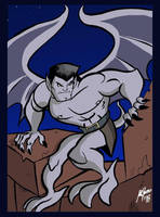 Goliath Gargoyles by Granamir30