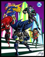 Bat-Team by Granamir30