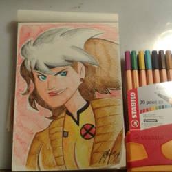 Rogue sketchbook by Granamir30