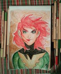 Jean Grey X-Men by Granamir30