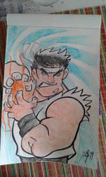 Street Fighters Ryu by Granamir30