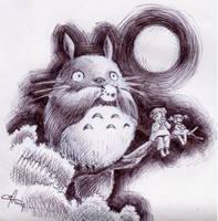 .:Totoro:. by mangoes