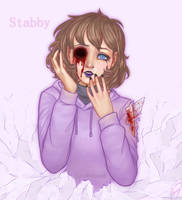- Commission - Stabby! by CamyWilliams9