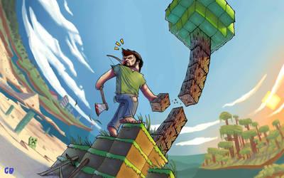 Real Minecraft by gabiboos