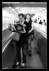 on the travelator by graffit