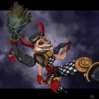 HalloWeek 2018 #3 ~ The Dread Puppet House by Ziegelzeig