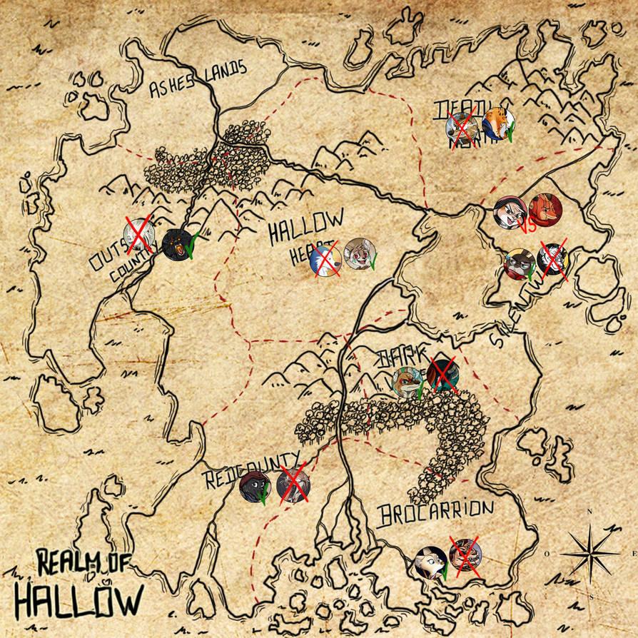 HallowMapDayEight by Ziegelzeig